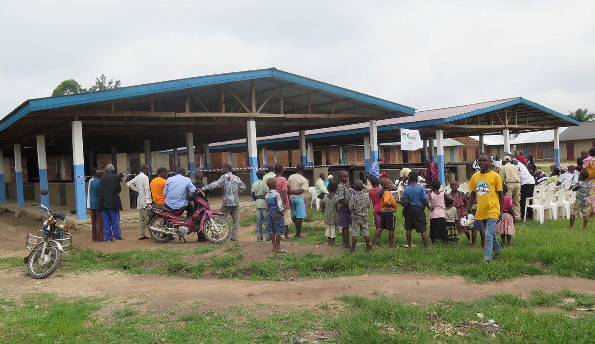 La Monusco finance la reconstruction du marché du quartier Kalinda à Beni