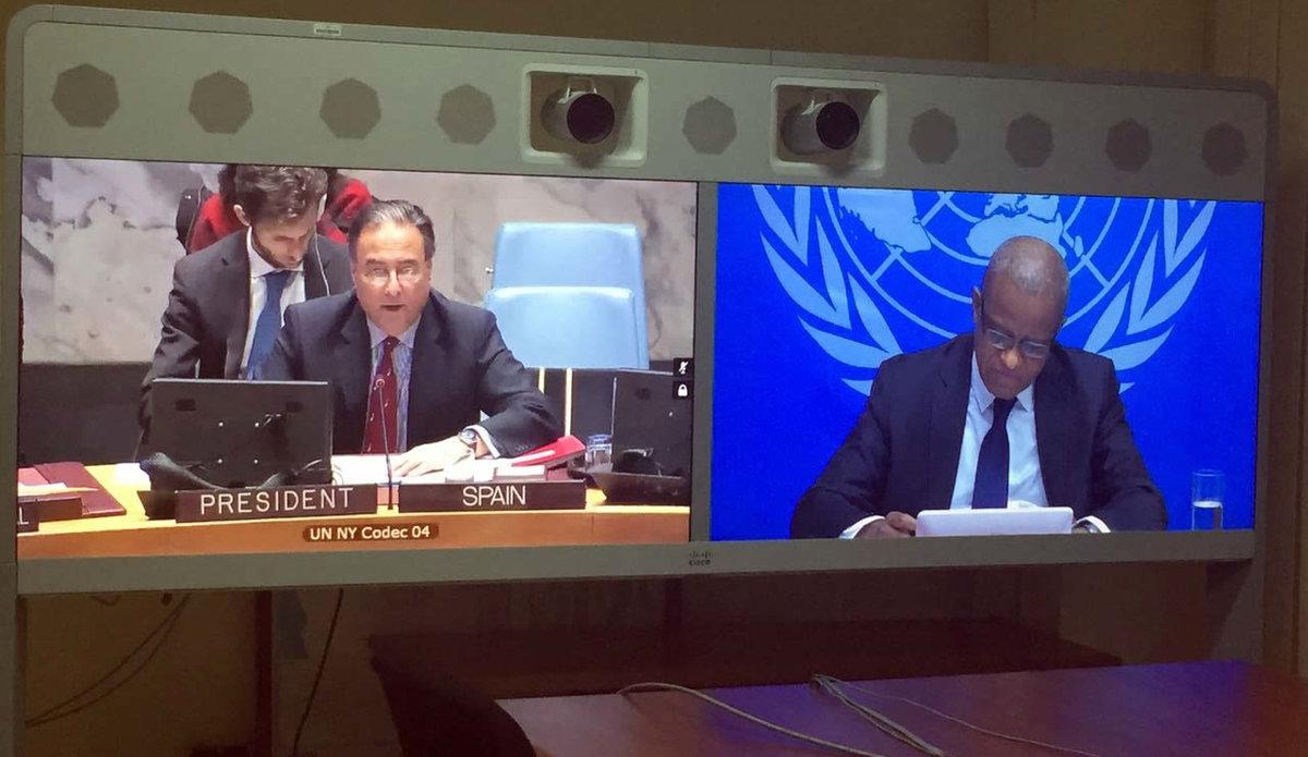 Déclaration du RSSG Maman Sidikou devant le Conseil de sécurité