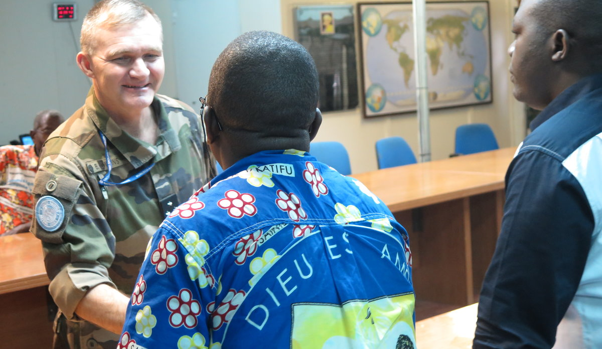 La Force de la Monusco invite les communautés en Ituri à dialoguer pour la paix