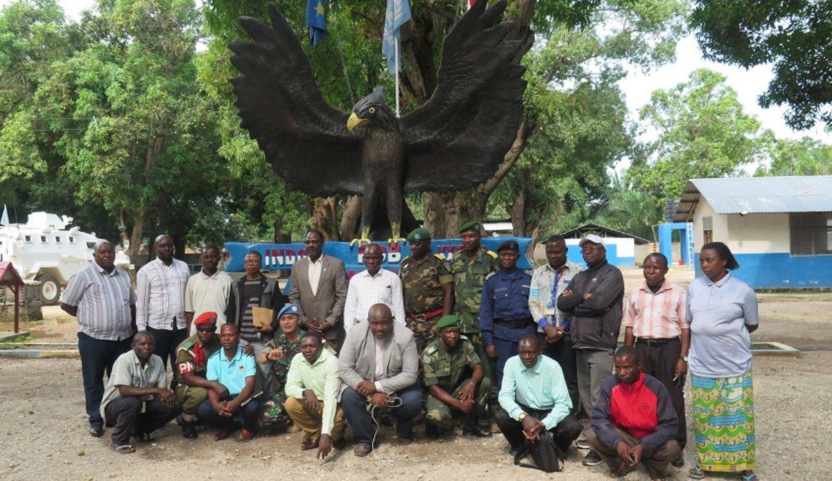 Tanganyika : MONUSO et partenaires satisfaits des conditions sécuritaires en territoire de Manono. Photo MONUSCO/Marcelline ADJOU COMLAN