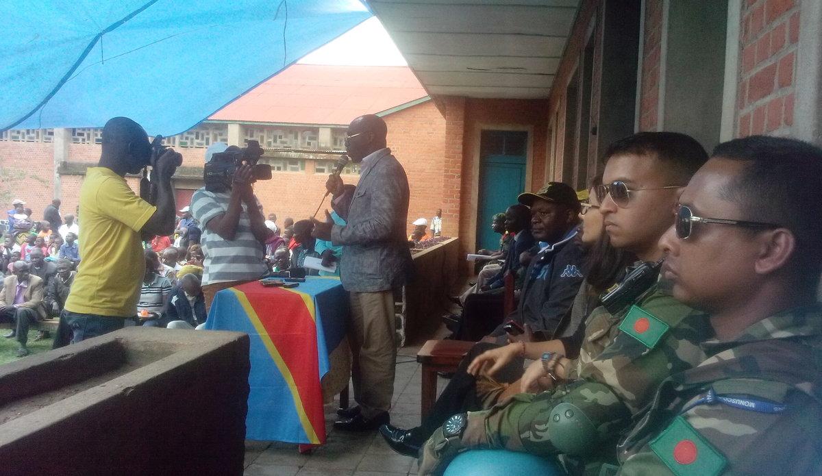 La chefferie de Walendu Bindi dotée d'une radio pour la paix par la MONUSCO