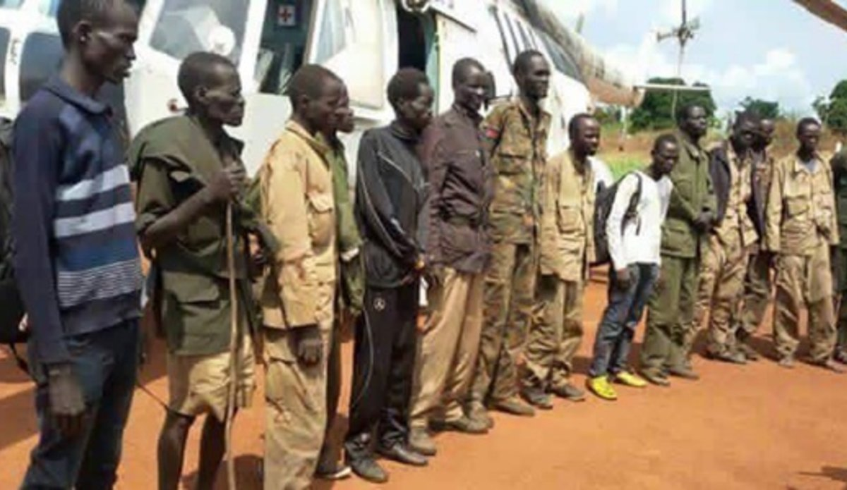 MONUSCO extracted hundreds of individuals from the Garamba National Park on humanitarian grounds