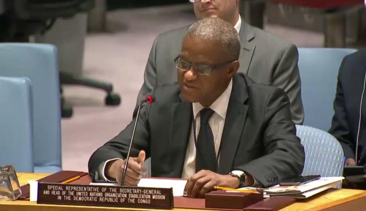 Discours du Chef de la MONUSCO Maman Sidikou au Conseil de securité - Session ouverte