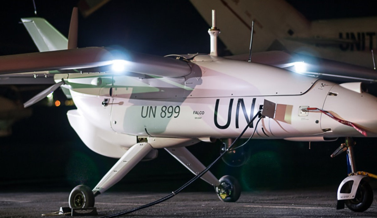 MONUSCO's edge - Unmanned aerial systems