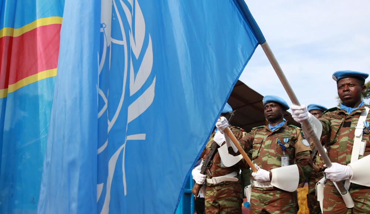 The UN in the DRC