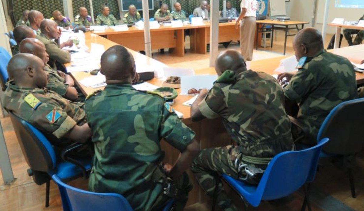 En Ituri, la MONUSCO forme 40 FARDC en Droits de l'Homme
