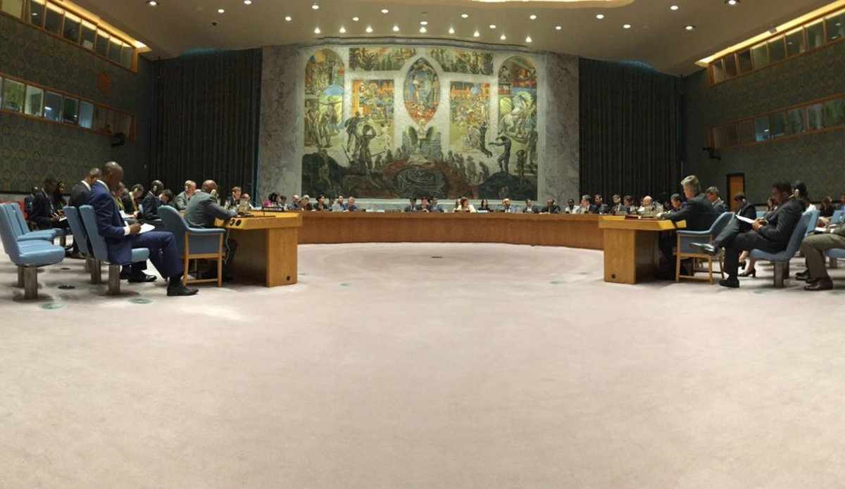 UN Security Council expresses concern at the slow implementation of the 31 December 2016 agreement.