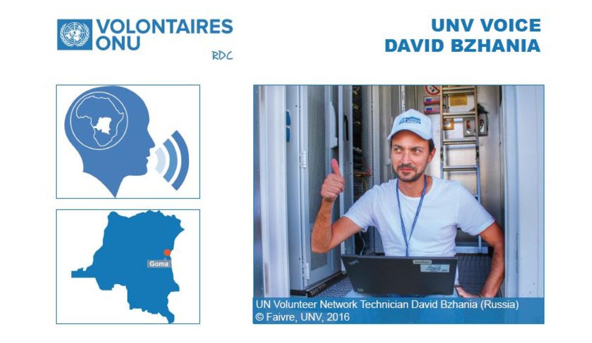 David Bzhania in UNV VOICE