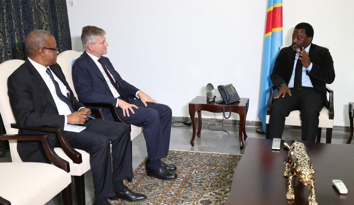 Fin de la visite du Secrétaire général adjoint des Nations Unies chargé des Opérations de maintien de la Paix en RDC.