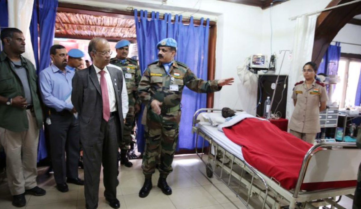 Visit of the Under Secretary General for the Department of Field Support Atul Khare  in Goma