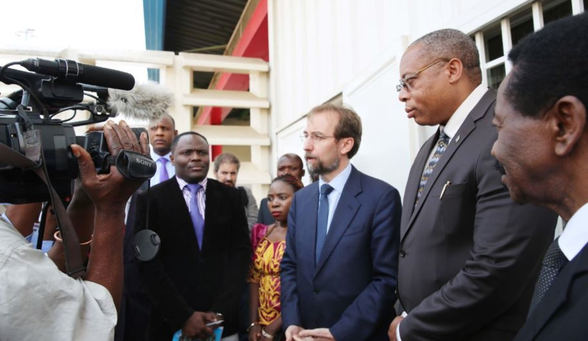 RDC : Zeid met en garde contre une détérioration de la situation et réclame des comptes pour les heurts meurtriers
