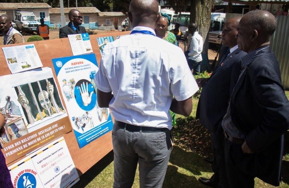 MONUSCO-FCDT Bukavu at the International Blue Helmet's day celebration 29 May 2018.