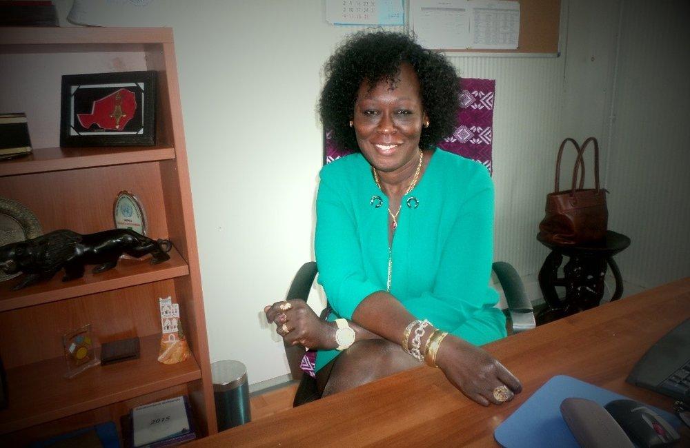 Ms Adama, Chief MONUSCO CDT
