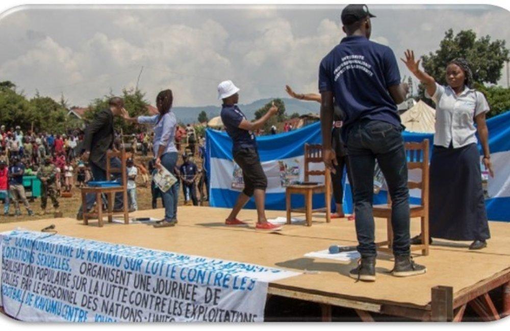 Activité sur la lutte contre l'EAS par CBCN Bukavu-kavumu (2017)