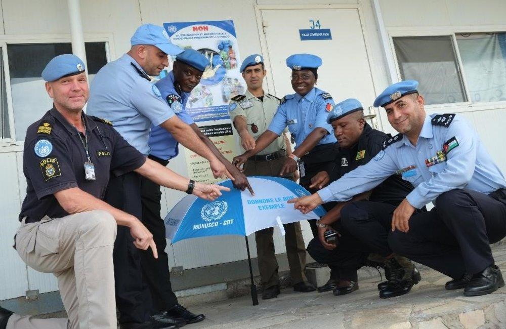 Campagne anti-EAS par la Task-Force MONUSCO-UNPOL (Nov-2017)