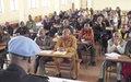 Plus d'une centaine d'inspecteurs et officiers congolais de la police judiciaire formés