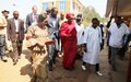 Zainab Hawa Bangura in sympathy with victims of sexual violence in the DR Congo