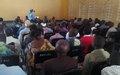 La MONUSCO et la Société civile échangent sur la situation sécuritaire dans les Territoires de Fizi et d'Uvira.