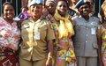 La Police Monusco d'Uvira échange avec des Organisations féminines  sur les stratégies de lutte contre les violences basées sur le Genre et les tracasseries policières