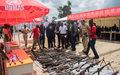 UNMAS détruit des armes et munitions défectueuses de la Police nationale congolaise au Sud-Kivu