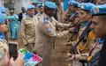 Pour avoir accompli leur mission, des médailles de l'ONU remises à une centaine de policiers de la MONUSCO Sud-Kivu