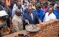 Sud-Kivu : la MONUSCO aide à reconstruire la maternité de l'hôpital de la PNC