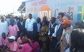 UNFPA met en place une clinique mobile sur le site des déplacés de Katanika