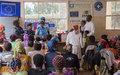 Journée Internationale de la Charité : UNPOL donne à des vulnérables à Bukavu