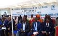 Le Gouverneur du Kasaï central appelle la population à privilégier la Paix en toute situation