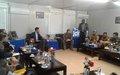 KALEMIE : Arrivée de la délégation du Conseil de Sécurité des Nations Unies au Tanganyika