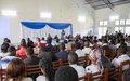 «Que fait la MONUSCO en RDC?», question des étudiants de l'Université Officielle de Bukavu