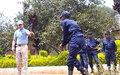 UNPOL prépare des agents PNC à sécuriser les installations de riposte contre Ebola