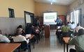 Recyclage sur «la signalisation judiciaire» au profit de la Direction de Police technique et scientifique de la PNC