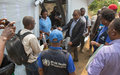 Ebola au Sud-Kivu : Autorités provinciales et Nations unies visitent le centre de traitement de Chowe
