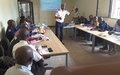 Kananga : la Police MONUSCO forme des Officiers des renseignements généraux