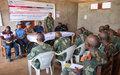 Sud-Kivu : La MONUSCO forme les forces de sécurité sur le respect des Droits de l'Homme