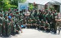 FARDC Senior Military Officers visit MONUSCO