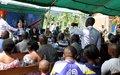 Opération militaire à Beni : « Nous avons un mandat d'appui aux FARDC, mais ce n'est pas une opération conjointe », précise Leila Zerrougui