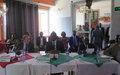 Kasaï : le Représentant spécial adjoint du Secrétaire général à Kananga pour la présentation de l'approche Nexus