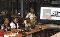 La MONUSCO encourage les journalistes du Nord-Kivu à mieux intégrer le genre dans leur travail