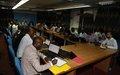 Atelier consacré au signalement des problèmes liés à la protection des civils en période électorale
