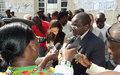 « Le Représentant Spécial Adjoint, Fidèle SARASSORO, Réaffirme  le Soutien de la MONUSCO à la CENI »