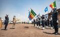 Nord Kivu : une centaine de policiers sénégalais décorés de la médaille des Nations Unies