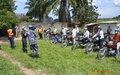 A Kananga, les conducteurs de Mototaxis s'engagent dans la lutte contre la propagation du Coronavirus