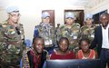 BUNIA:  MONUSCO contingents deliver vocational training to empower local youths