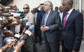 En visite dans le Nord Kivu, Antonio Guterres exprime sa solidarité au peuple congolais