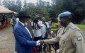 Le chef de la Police de l'ONU à la Monusco évalue la situation sécuritaire du  Sud-Kivu