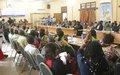 Des femmes congolaises sensibilisées sur la médiation et la résolution des conflits en RDC avec l'appui de la MONUSCO