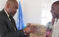 La MONUSCO remet du matériel au Tribunal militaire de garnison de Kalemie