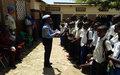 Des élèves de l'école «Unité» sensibilisés sur la protection de l'enfant et les droits de l'homme